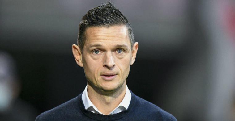 Maletic reageert op 'transferappjes' aan Mauro Júnior: 'Was het niet eens met PSV'