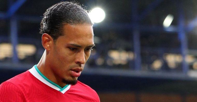 'Van Dijk begint met lichte hersteltraining en zorgt voor hoop bij Liverpool'