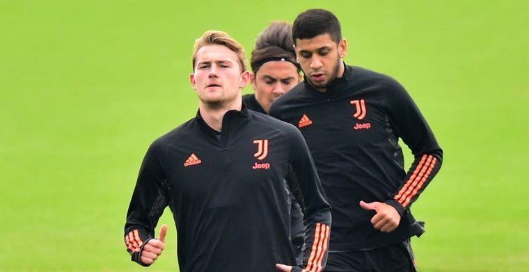'De Ligt staat na een week groepstraining meteen in de basis bij Juventus'