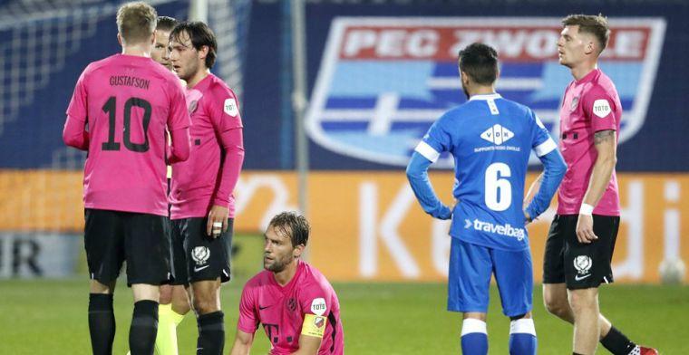 PEC en FC Utrecht winnen opnieuw niet, drama voor routinier Janssen