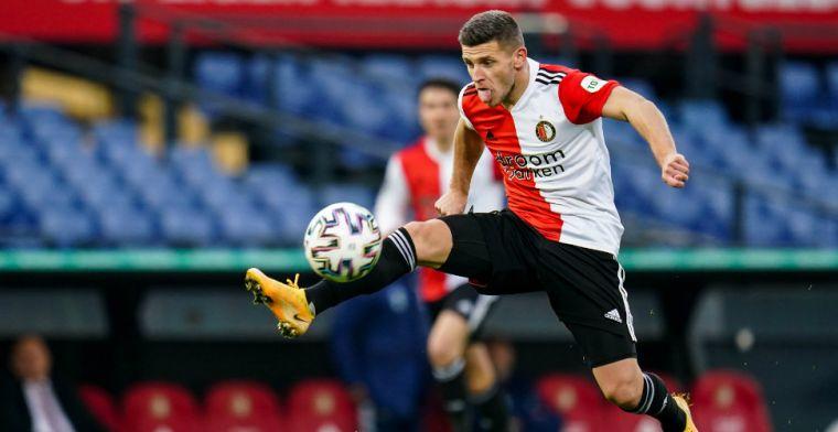 'Daarom ben je topsporter, je wil bij een topclub als Feyenoord voetballen'