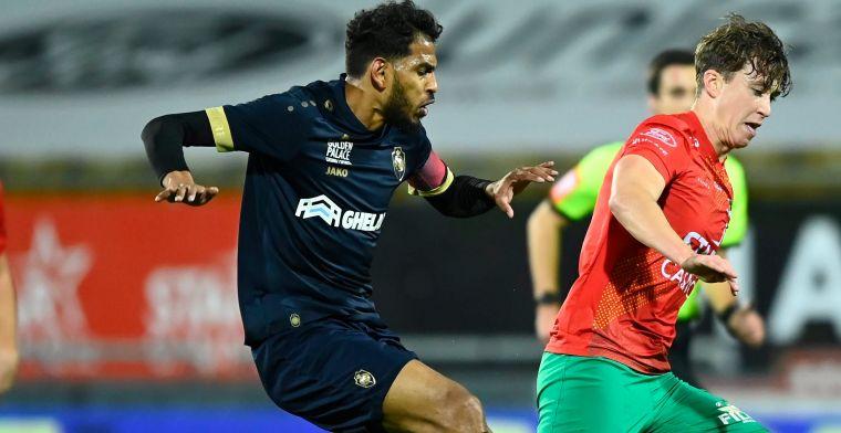 Geen rood voor Haroun (Antwerp) tegen Oostende: 'Kan  De Bleeckere het uitleggen?'