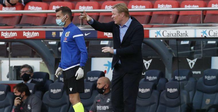 'Koeman gebruikt 'fórmula Turín' tegen Atlético, slecht nieuws voor Dest'