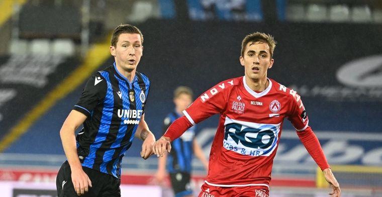 Club Brugge wint zonder veel overtuiging van KV Kortrijk