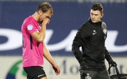 Afbeelding: Utrecht-aanvoerder Janssen houdt emoties in bedwang: 'Het is zwaar klote'