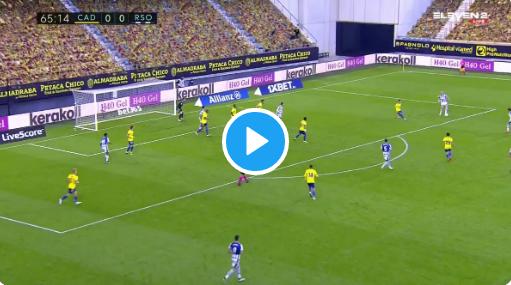 GOAL! Januzaj (Real Sociedad) laat zich opmerken met heerlijke assist