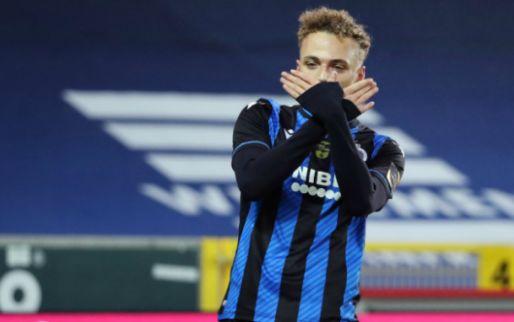 Afbeelding: Lang matchwinner bij Club Brugge met prachtige omhaal: 'Op intuïtie, zeg maar'