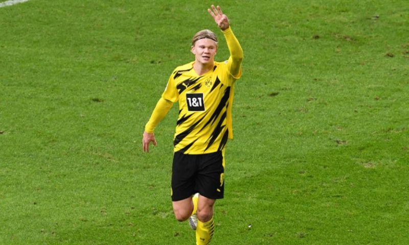 Afbeelding: Dortmund-uitblinker Haaland ziet jongeling debuteren: 'Grootste talent ter wereld'