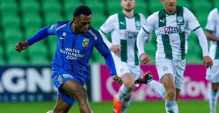 Openda bezorgt Vitesse een gelijkspel na doelpunt
