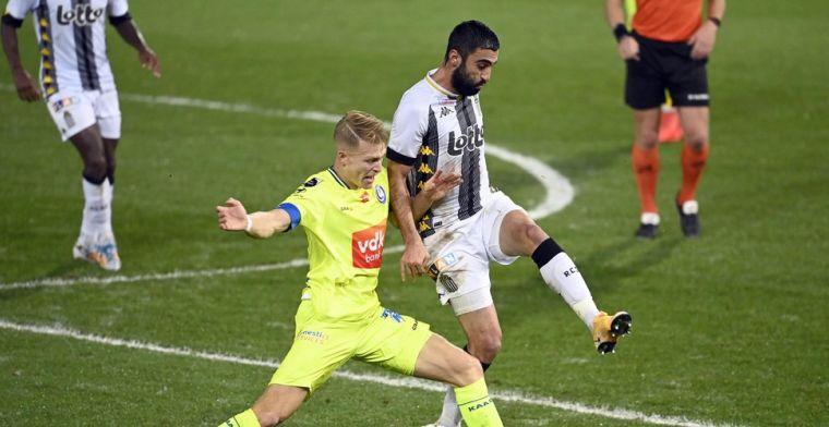Charleroi blijft sukkelen en gaat nu ook onderuit tegen KAA Gent