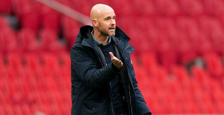 Ten Hag moppert na Ajax-zege over interlands en slecht veld: 'Wordt niet beter'