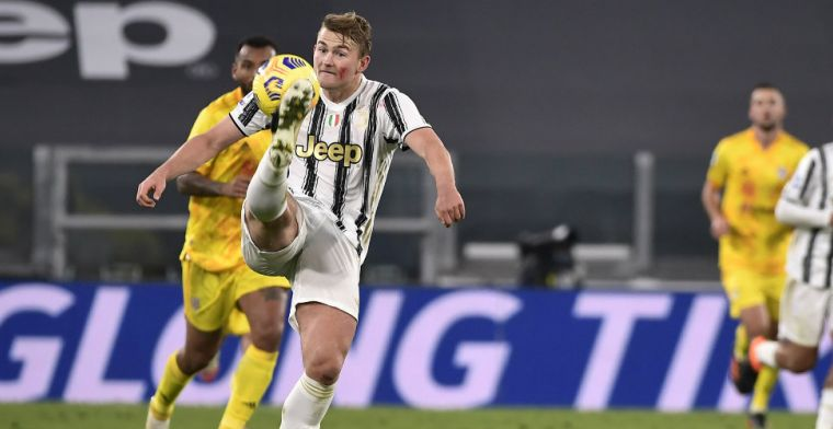 Pirlo looft De Ligt bij rentree: 'Hij is een kampioen, dat bewees hij meteen'