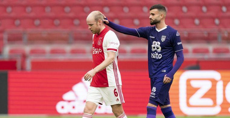Nieuwe tegenvaller voor Ajax: Klaassen valt uit in aanloop naar 'Midtjylland'
