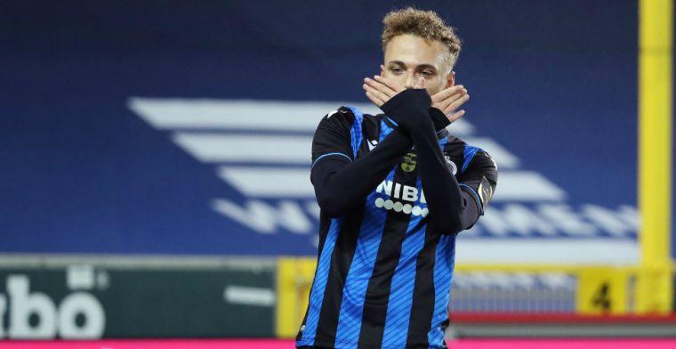 Lang matchwinner bij Club Brugge met prachtige omhaal: 'Op intuïtie, zeg maar'