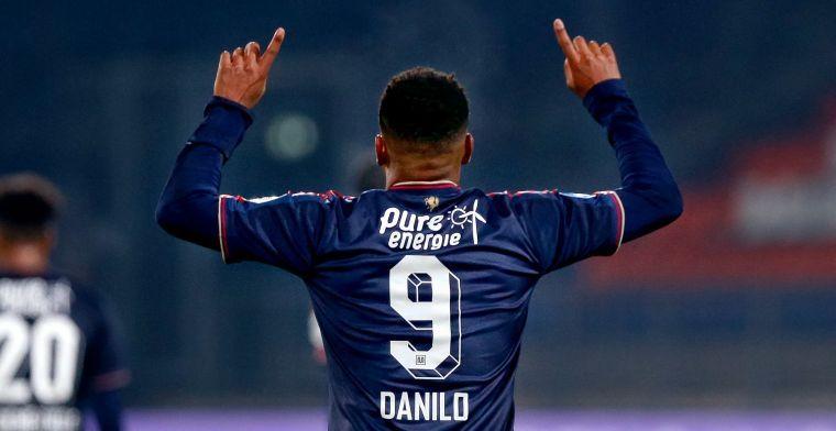 De Boer: 'Danilo is een balvirtuoos, hij beheerst dat veel beter dan Traoré'