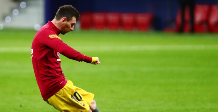 Messi blijft bij ons en we zullen met hem de Champions League winnen