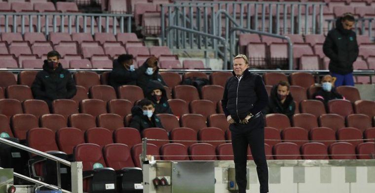 Koeman zet streep door 'enorme persoonlijkheid' bij Barça: 'Triest en moeilijk'
