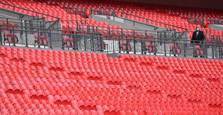 'Groot nieuws uit Engeland: fans mogen volgende week de stadions weer in'