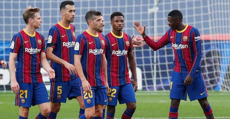 'Domper voor noodlijdend Barça, club moet 5 miljoen euro betalen aan Dortmund'
