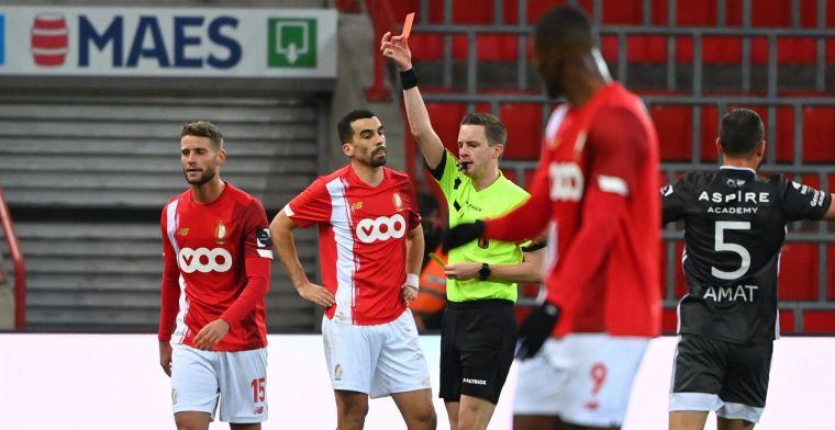 UPDATE: Standard en Shamir doen niet moeilijk, schorsing tegen Anderlecht