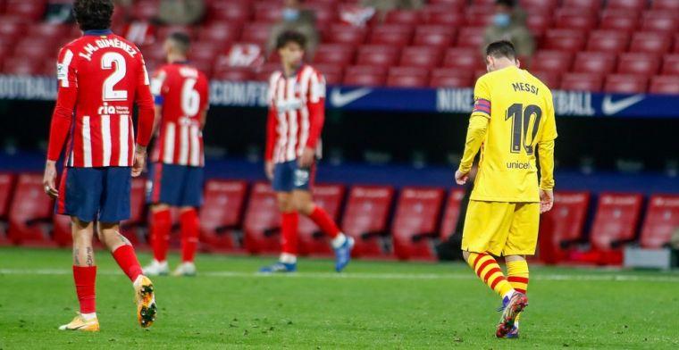 Barcelona-trainer Koeman laat Messi uit zijn selectie voor de Champions League
