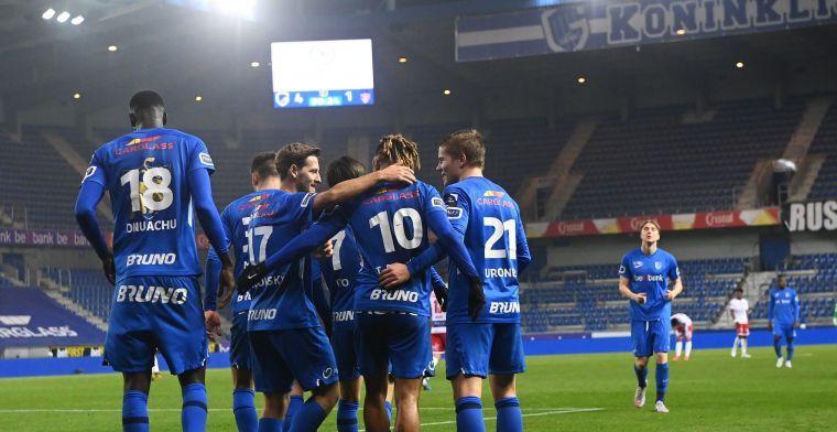 KRC Genk gaat achtervolging met Club Brugge in: 'Mikken op de eerste plek'