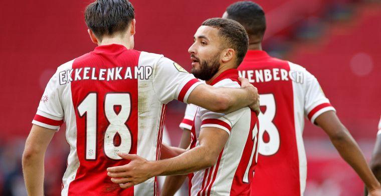 VP's Elftal van de Week: Ajax hofleverancier met drietal, Sparta goede tweede