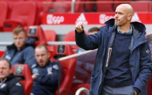 Ten Hag verwacht vier Ajax-spelers terug op woensdag: 'Ik stel hem als eerste op'