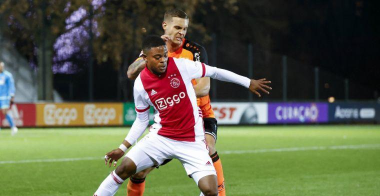 Hansen heeft duidelijke voorkeurspositie bij Ajax: 'Kan ik het mooist voetballen'