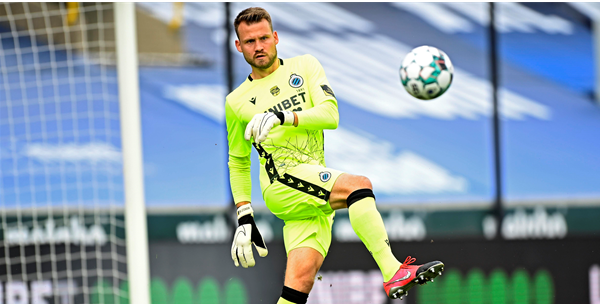 """Mignolet over toekomst: """"Ik wil de Buffon van Club Brugge worden"""""""