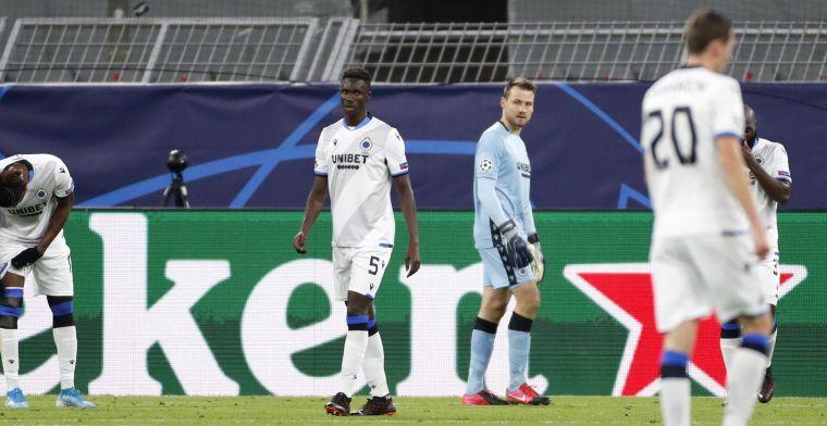 Supporters duidelijk over de prestatie van Club Brugge op Dortmund
