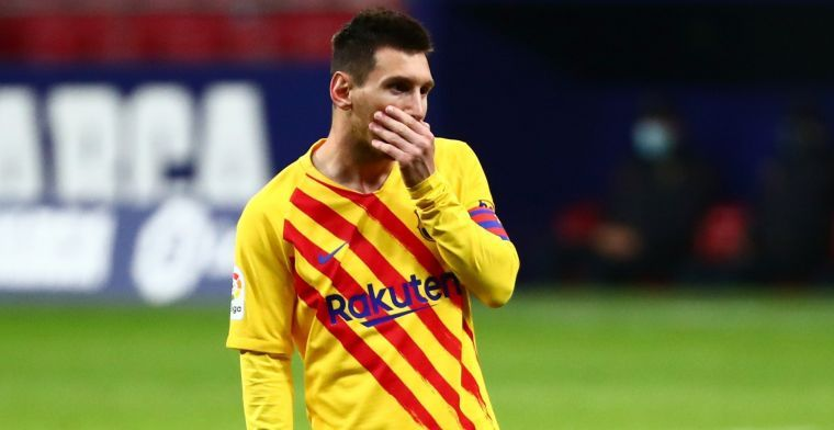 'Als Barça Messi verkoopt, krijg je 50 miljoen en ben je zijn salaris kwijt'