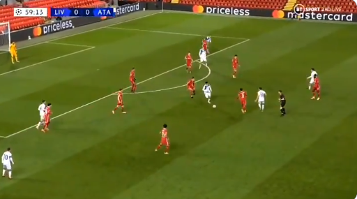 GOAL! Stunt in de maak: Atalanta verrast Liverpool