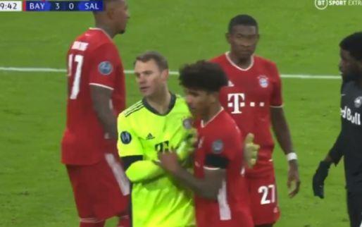 Neuer is buitenaards: dubbele wereldredding, Bayern München wordt gek