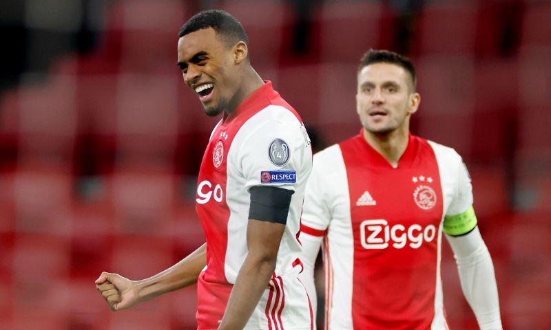 Afbeelding: Ajax vol in Champions League-race: 'Twee keer winnen, dan groepswinnaar!
