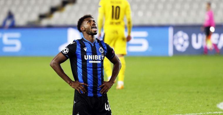 'Club Brugge-speler Dennis mag donderdag weer aansluiten na 'busincident''