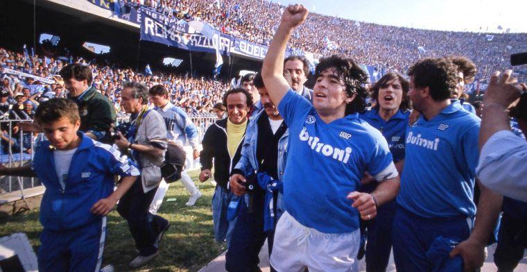 Napoli denkt aan ultiem eerbetoon: San Paolo krijgt mogelijk naam Maradona