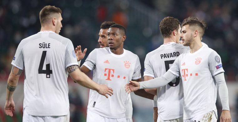 'Flick posteert zwaarlijvige Bayern München-verdediger voor straf op de bank'
