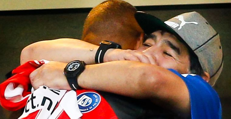 Gullit bedroefd: 'Je wist dat Maradona iemand was die nooit heel oud zou worden'