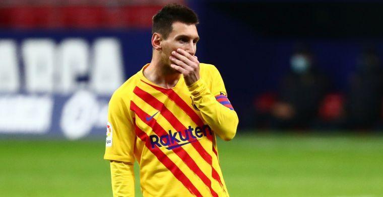 'Manchester City gaat tóch voor komst Messi: tienjarenplan voor Barça-ster'