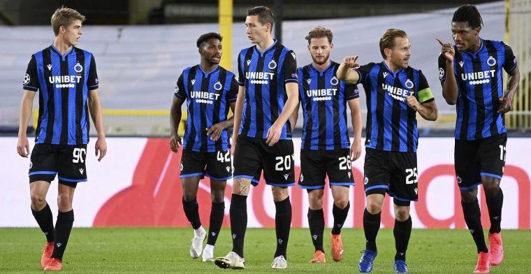 Club Brugge schommelt: 'Voorlopig niet op te lossen structureel probleem'