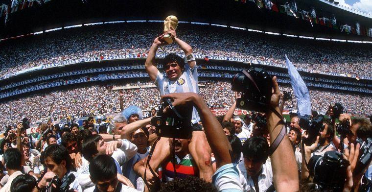 LIVE: voetbalwereld reageert op overlijden Diego Maradona (gesloten)