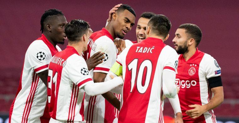 Ajax boekt zege na wereldgoal Gravenberch en wacht bloedstollende ontknoping