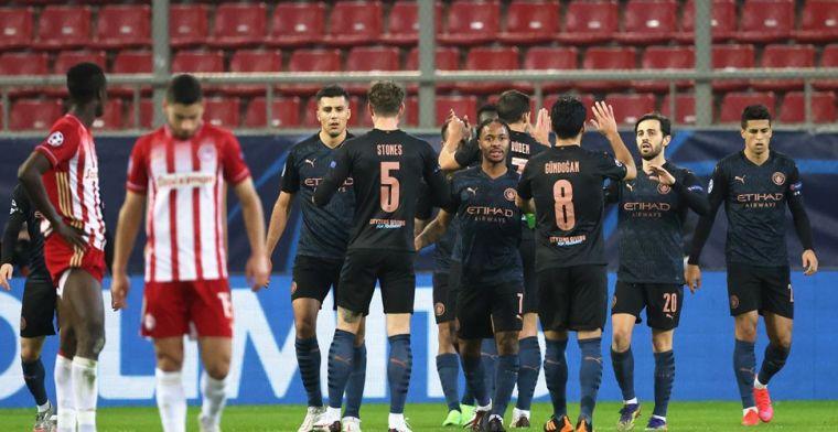 Manchester City naar volgende ronde, Gladbach geeft signaal af aan Real en Inter