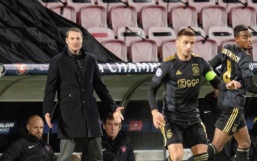 'We zijn weggespeeld door Ajax, het is de eerste keer dat het écht pijn doet'