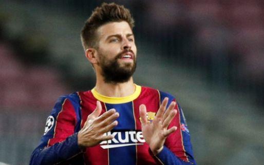 Afbeelding: Spaanse media: Piqué en Barça slaan advies van kniespecialist in de wind