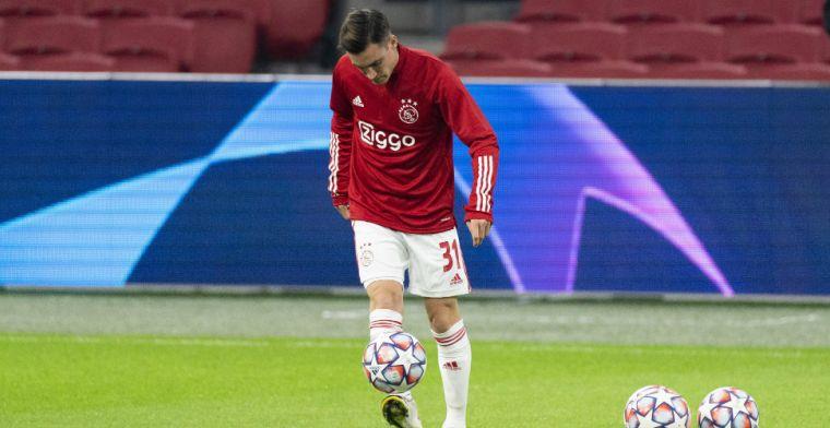 Tagliafico vroeg om 'laatste eerbetoon aan Maradona' bij Ajax: 'Hadden het zwaar'