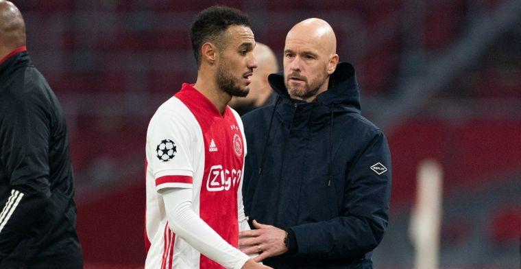Mazraoui boos op scheidsrechter en VAR na Ajax-zege: 'Ik vond het heel vreemd'