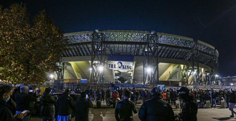 Napoli-stadion krijgt de naam van Maradona: 'Hopelijk als fans weer terugkomen'