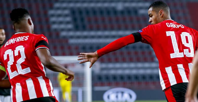 Bizarre afgekeurde goal en 0-2 achterstand: PSV ontsnapt tegen PAOK Saloniki